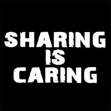 SHARING IS CARING (torrent the pirate bay piracy poor jesus anonymous) T-SHIRT