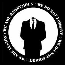 ANONYMOUS WE ARE LEGION (disobey linux anti activist NWO hacker occupy) T-SHIRT