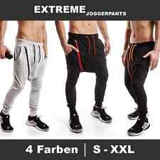 Men's Harem Pants Trousers Tracksuit bottoms Sporty Jogging Fitness new