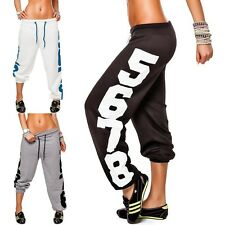 Ladies casual pants Sports Jogging Trousers Track Size S-XL