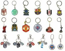 OFFICIAL FOOTBALL CLUB - KEYRINGS (Crest, Spinner, Bag Charm, Key Ring) (Gift)