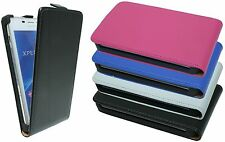 Flip Case Pouch for Sony Xperia M2 COLOUR & FOIL selectable