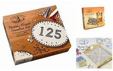 House Of Crafts Mosaic Craft Kits Tray House Number Complete Box Sets