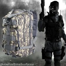 Military Tactical Backpack Oxford Sport Bag Camping Traveling Hiking Trekking