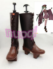 VOCALOID Miku Senbonzakura Cosplay Shoes COS High Boots Plus Size Customized
