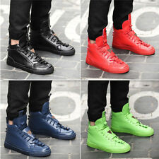 New Mens High Sneakers Loafer Hip Hop Casual Fashion England Leisure Shoes SY10