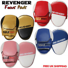 MMA Focus Pads,Hook & Jab Mitts,Boxing Punch Gloves Bag Thai Karate Kick Curved
