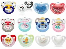 Nuk All Size & Design Soothers/Dummies Are Available (Latex / Silicone)