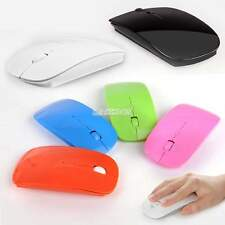 Slim 1600 Dpi Wireless 2.4GHz Optical USB Receiver Mouse Mice for PC Laptop EA