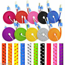 Rapid Charge Braided Micro USB Cable For Galaxy S6 S5 S4 S3 S2 Note V IV III II