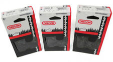 """3 Pack Oregon Semi-Chisel Chainsaw Chain Fits 16"""" Red Max Saw FREE Shipping"""