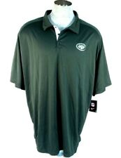 Nike Dri Fit NFL On Field NY Jets Short Sleeve Polo Shirt New York Jets Mens NWT