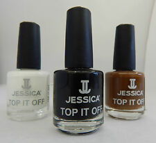 Jessica Cosmetics Nail Polish - Top It Off Crackle Polish