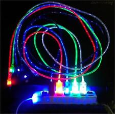LED Light Micro USB Charger Data Sync Cable for Samsung Galaxy S4 HTC Android