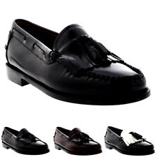 Womens G.H Bass Weejuns Esther Kiltie Slip On Smart Work Loafers Shoes UK 3-9