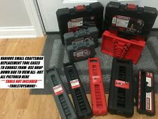 NEW CRAFTSMAN SMALL TOOL CASE SOCKET IMPACT  METRIC OR SAE * TOOLS NOT INCL *