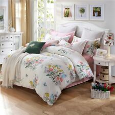 100%Cotton Double/Queen/King Size Bed New Quilt/Duvet/Doona Cover Set Pillowcase