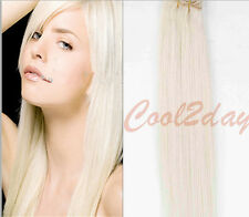 #60  Blonde remy Blended Hair Extensions 100% clip in human hair extensions