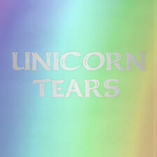Engraved 8oz Stainless Steel UNICORN TEARS FLASK Your Choice of Color or Rainbow