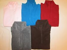 NEW LADIES' GAP 1/4  ZIP FLEECE PULLOVER JACKET, PICK A SIZE & COLOR, $50