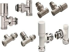 Radiator Valve And Heating Components Sets Various Sizes And Finishes