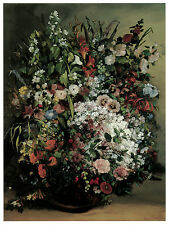 1190.Flower arraignment Art Decoration POSTER.Graphics to decorate home office.