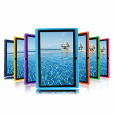 "8GB 7"" Google Quad Core Android 4.4 Tablet PC Kids Dual Cameras WiFi Bluetooth"