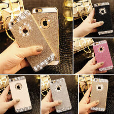 3D Bling Glitter sparkle Crystal Rhinestone Hard Case Cover for iPhone & Samsung