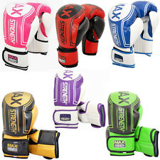 Boxing Gloves Fight Punch Bag MMA Muay Thai Training Mitt Pro Heavy Bag Kick Pad