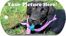 Custom Personalized with Your Photo or Text Dog Tags