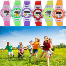 Sport Watch Boys Girls Students Time Electronic Silicone Digital Wrist Watch Hot