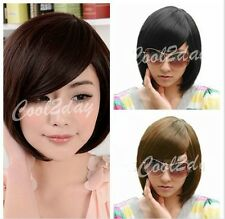Fashion Women Short Straight Heat Resistant Hair Synthetic Hair Cosplay Wigs New