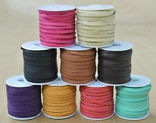 "Leather Lace Deerskin Spool 3/16"" x 50' lacing 3 ounce thickness"