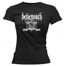 Behemoth - Satanist Eye Ladies Girls Black T-shirt - BRAND NEW