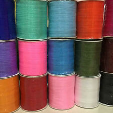 "29Colors Upick 1Roll(500Y) 6MM 1/4"" Mix Color Organza Ribbon Craft Wedding R553"