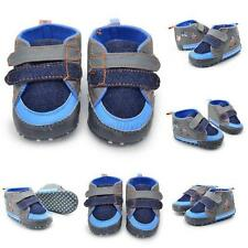 Vogue Baby Toddler Infant Boy Soft Sole Sneaker Prewalker Crib Shoes 0-18 Month