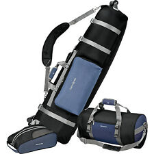 Samsonite Golf Travel Deluxe 3 Piece Golf Travel Set - Golf Bag NEW