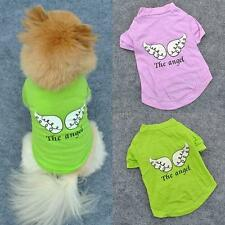 Sweet Pet Puppy Dog Clothes Angel Wing Style T-shirt Shirt Coat Tops Clothing