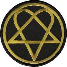 HIM His Infernal Majesty Heartagram Logo Patch - NEW & OFFICIAL
