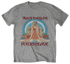 IRON MAIDEN Powerslave Egypt T-shirt (S to XXL) NEW OFFICIAL Aces High Eddie