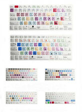 For iMac Macbook Pro Air 13 15 Metal Brushed Shortcut keys Keyboard Cover Skin