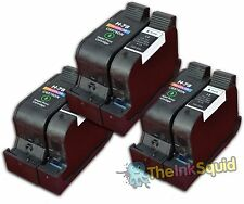6 Compatible HP15/78 Non-oem Ink Cartridges