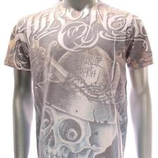 m193y Minute Mirth T-shirt Sz M L Tattoo CLASSIC Skull Graffiti Art Street Demon