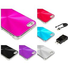 Color Chrome Aluminum Hard Luxury Case Cover Accessories for iPhone 5 5G 5S