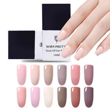 Soak Off UV Gel Polish LED Nail Varnish Manicure -Nude Series 10ml Born Pretty