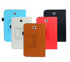 """Folio Leather Case Cover Stand For Samsung Galaxy Tab 3 7"""" Tablet P3200 P3 Case"""