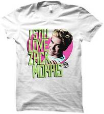 Saved By The Bell I Still Love Zack Morris Women's White T-Shirt S,M,L,XL