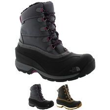 Womens The North Face Chilkat II Nylon Winter Snow Lace Up Ankle Boots UK 3-8
