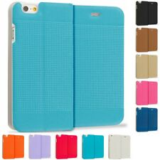 For Apple iPhone 6S (4.7) Slim Wallet Dots Hard Flip Color Case Cover Accessory
