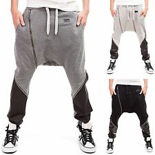 Men's Baggy trousers Harem pants Tracksuit bottoms Sporty Jogging Fitness new